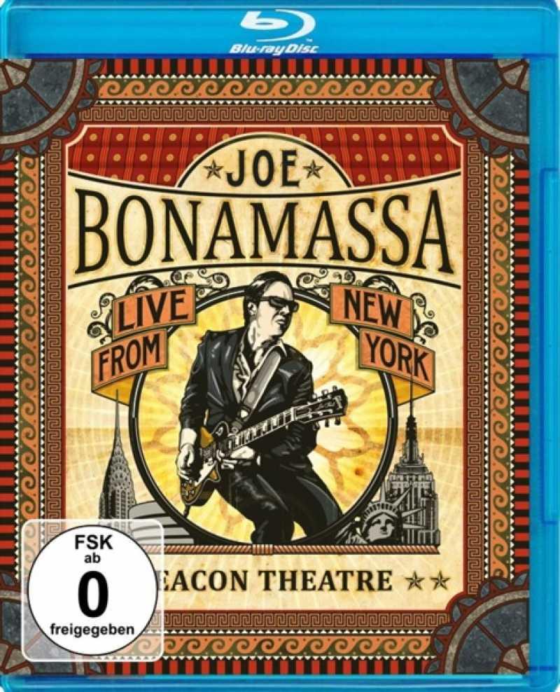 JOE BONAMASSA - BEACON THEATRE: LIVE.. (nieuw) - Blu-ray Disc