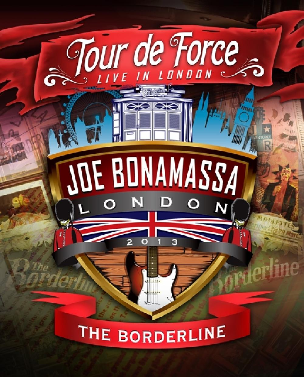 JOE BONAMASSA - TOUR DE FORCE - BORDERLIN (nieuw) - DVD