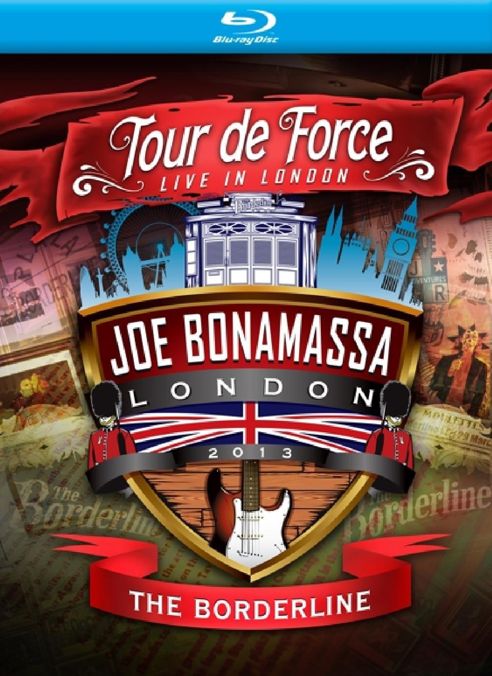 JOE BONAMASSA - TOUR DE FORCE - BORDERLIN (nieuw) - Blu-ray Disc