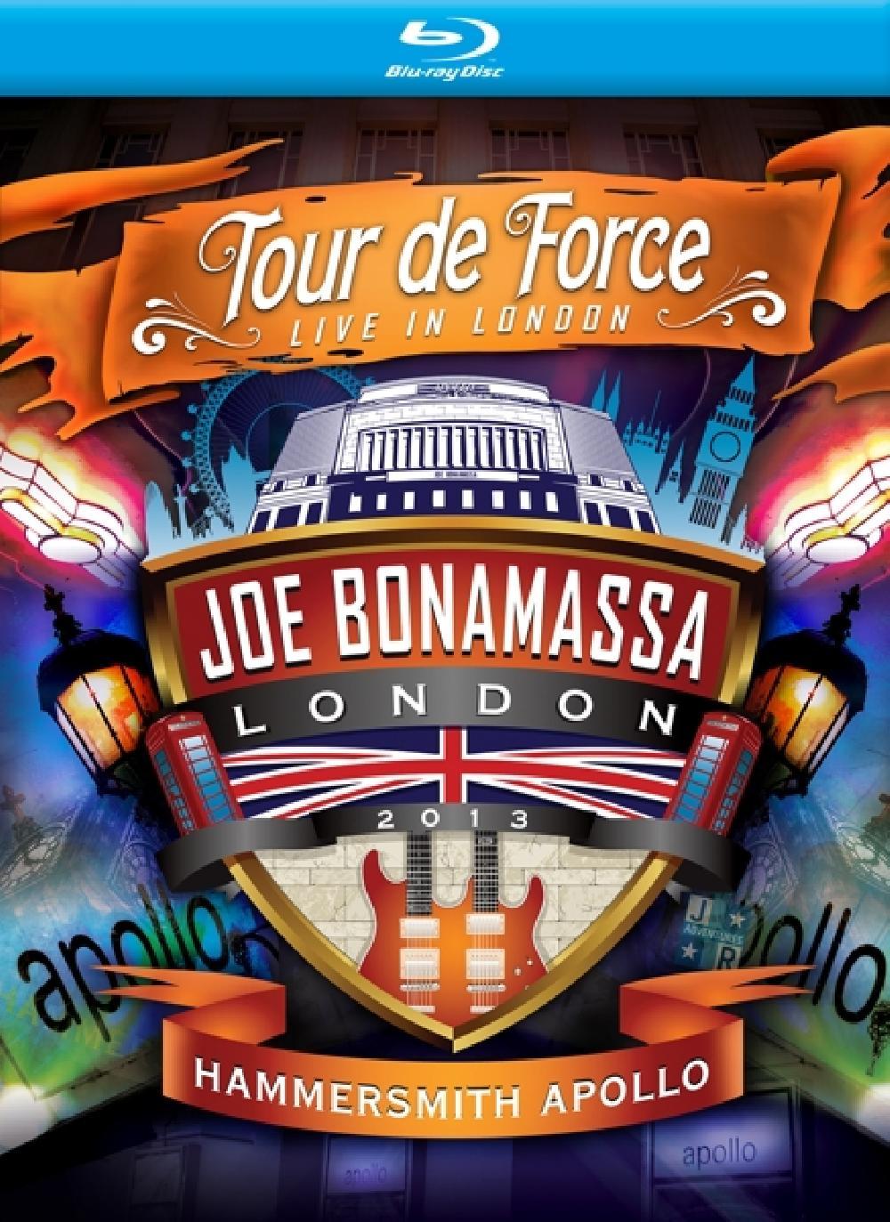JOE BONAMASSA - TOUR DE FORCE - HAMMERSMI (nieuw) - Blu-ray Disc
