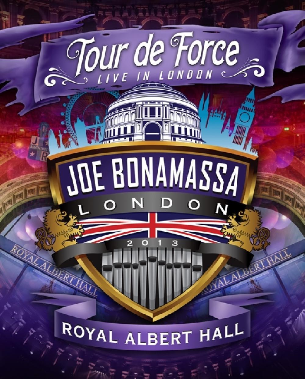 JOE BONAMASSA - TOUR DE FORCE - ROYAL.. (nieuw) - DVD