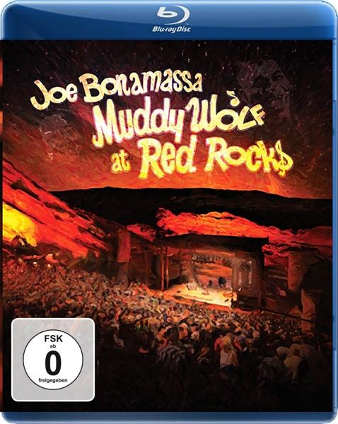 JOE BONAMASSA - MUDDY WOLF AT RED ROCKS (nieuw) - Blu-ray Disc