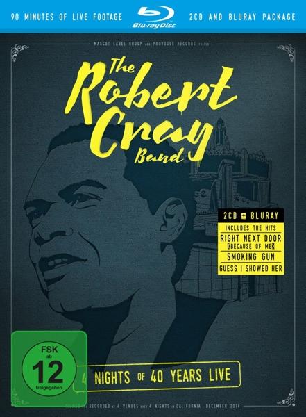 ROBERT CRAY - 4 NIGHTS OF 40.. -BR+CD- (nieuw) - Blu-ray Disc