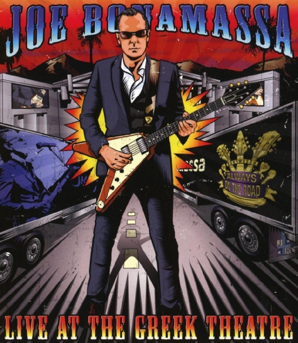 JOE BONAMASSA - LIVE AT THE GREEK THEATRE (nieuw) - Blu-ray Disc