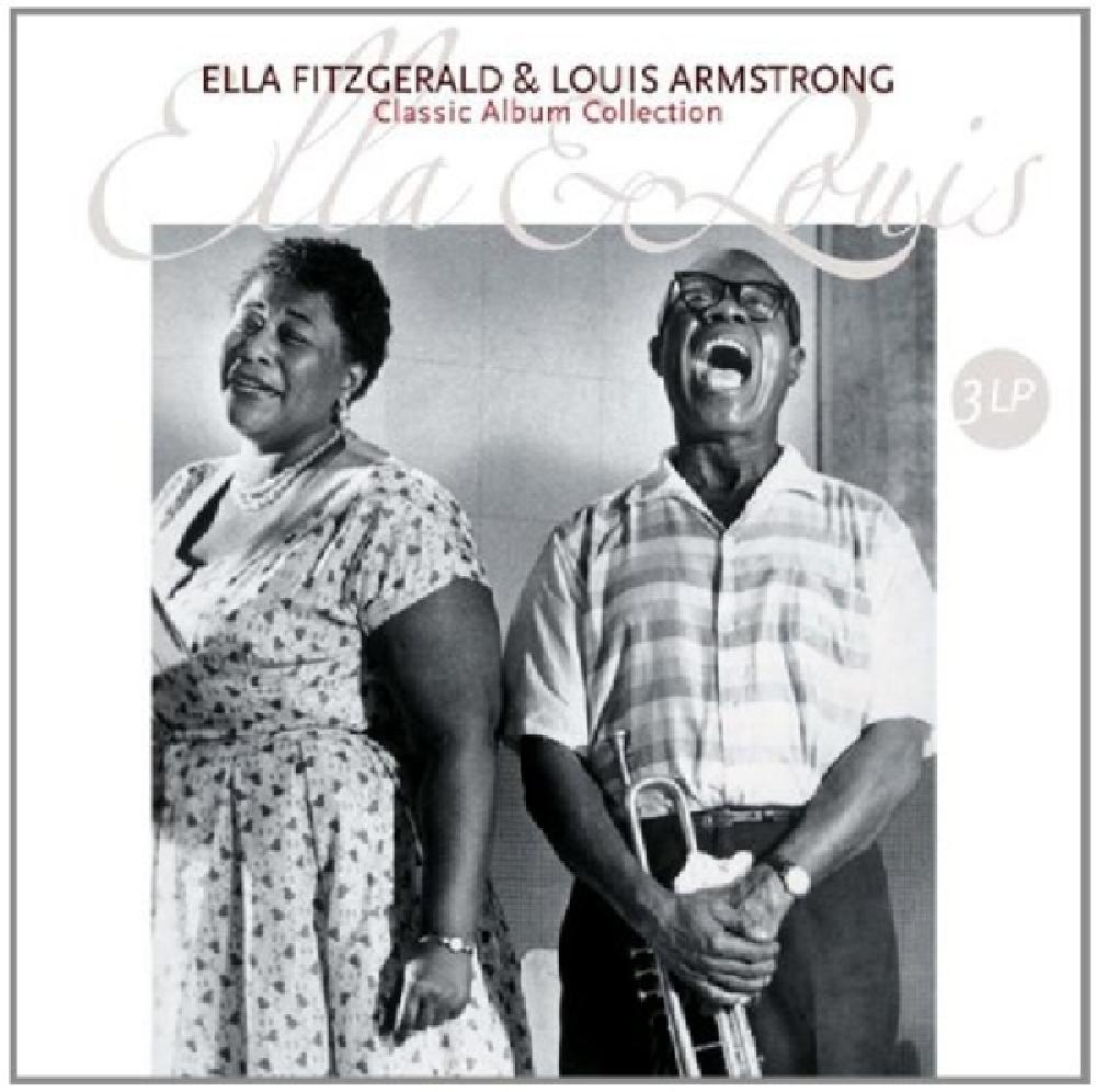 ELLA FITZGERALD &, LOUIS - CLASSIC ALBUM COLLECTION (nieuw) - LP