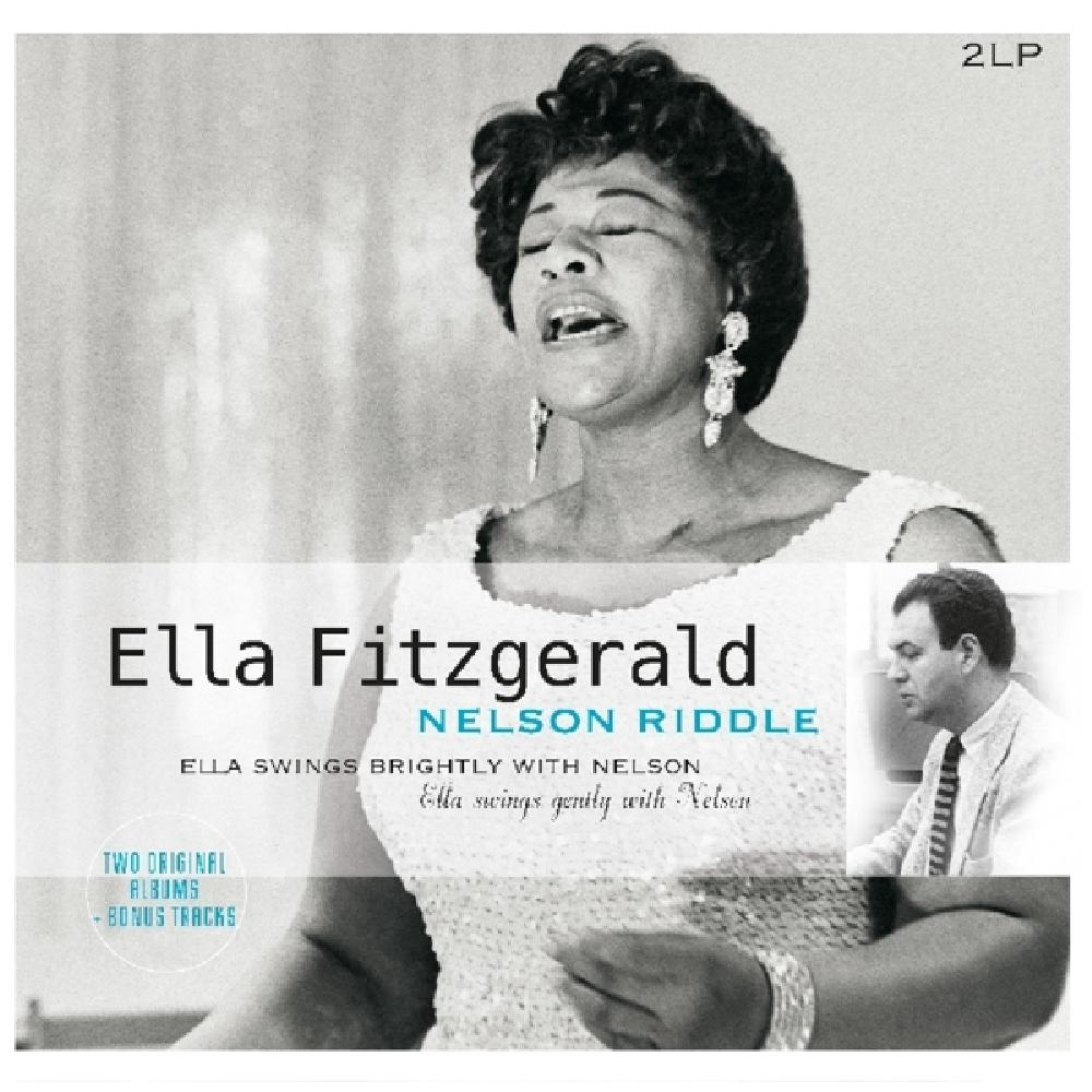 ELLA FITZGERALD/ NELSON - SWINGS BRIGHTLY WITH.. (nieuw) - LP