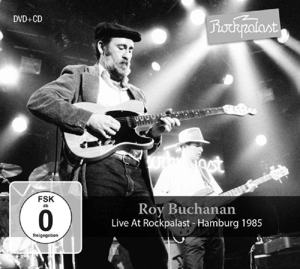 ROY BUCHANAN - LIVE AT ROCKPA.. -DVD+CD- (nieuw) - DVD