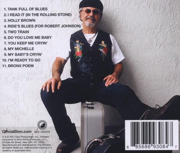 DION - TANK FULL OF BLUES (nieuw) - CD