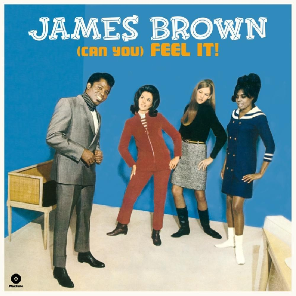 JAMES BROWN - (CAN YOU) FEEL IT! -HQ- (nieuw) - LP