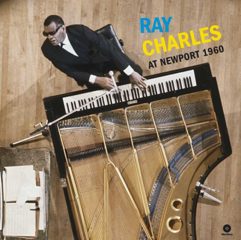 RAY CHARLES - AT NEWPORT 1960 -HQ- (nieuw) - LP