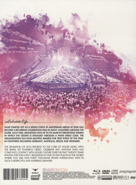 VARIOUS ARTISTS - SENSATION - CELEBRATE LIFE (nieuw) - DVD