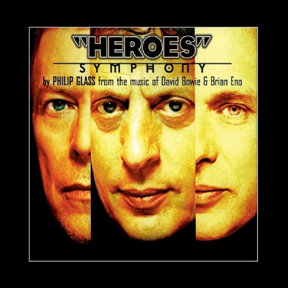david bowie/philip glass heroes symphony -hq- (nieuw)