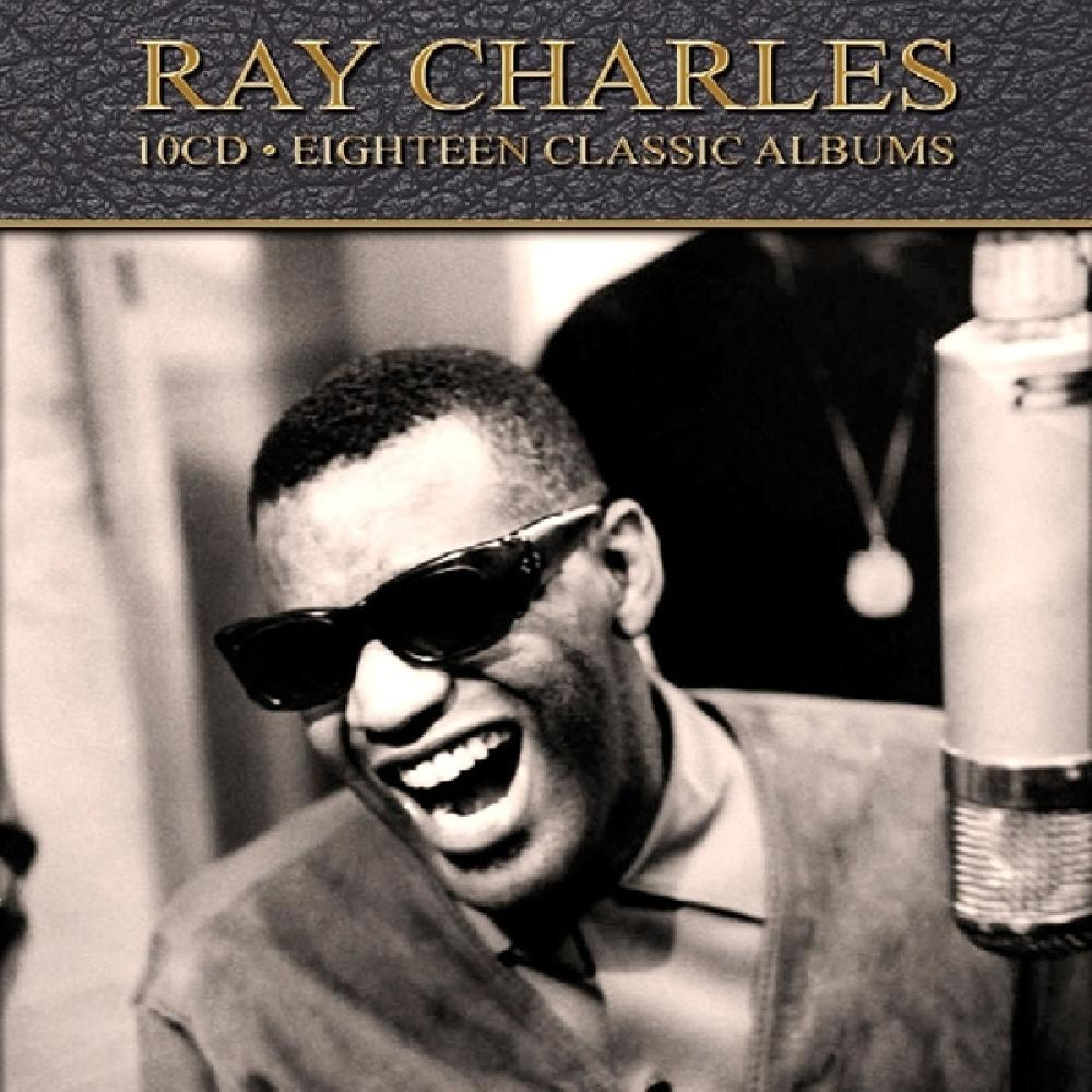 RAY CHARLES - EIGHTEEN CLASSIC ALBUMS (nieuw) - CD