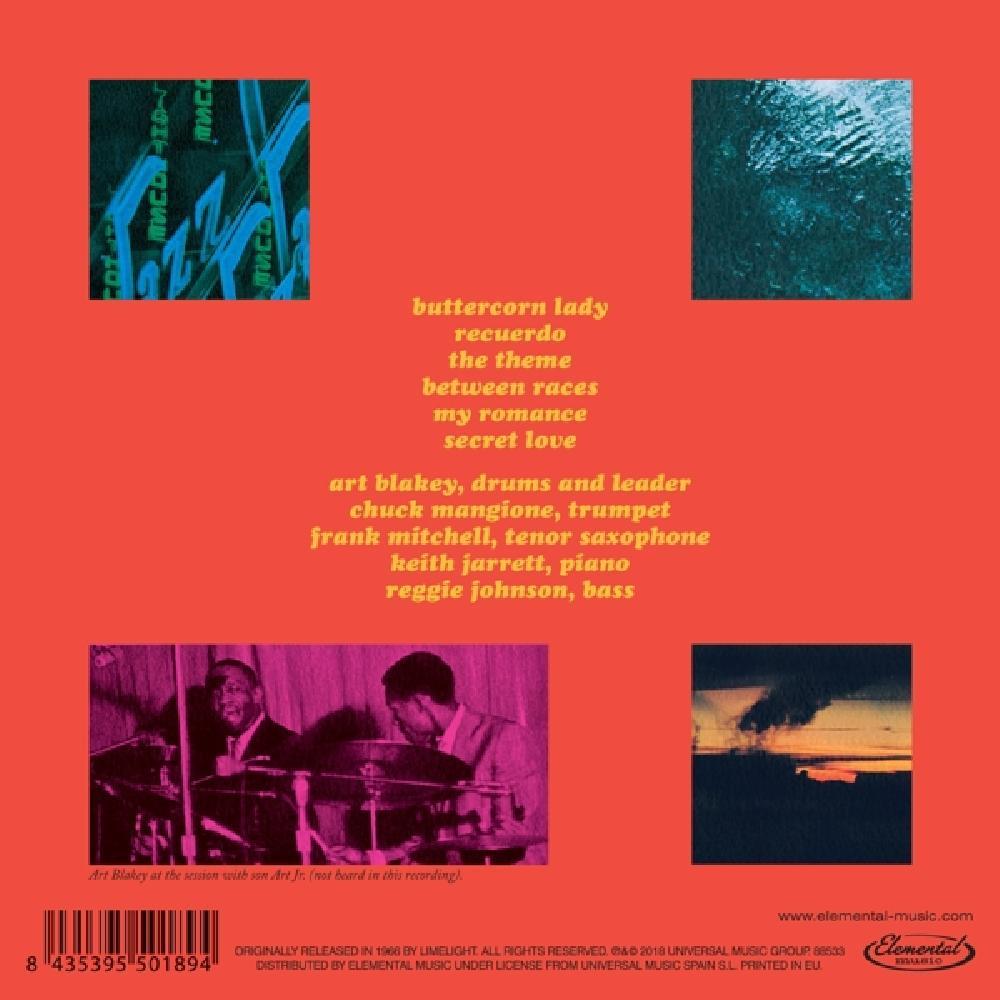 ART BLAKEY &, THE NEW JAZ - BUTTERCORN LADY -REMAST- (nieuw) - CD