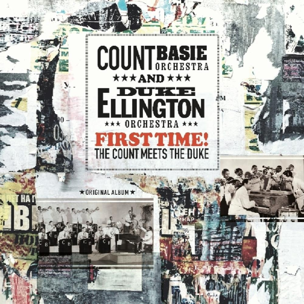 ELLINGTON AND BASIE - FIRST TIME! THE COUNT MEETS THE DUKE (nieuw) - LP