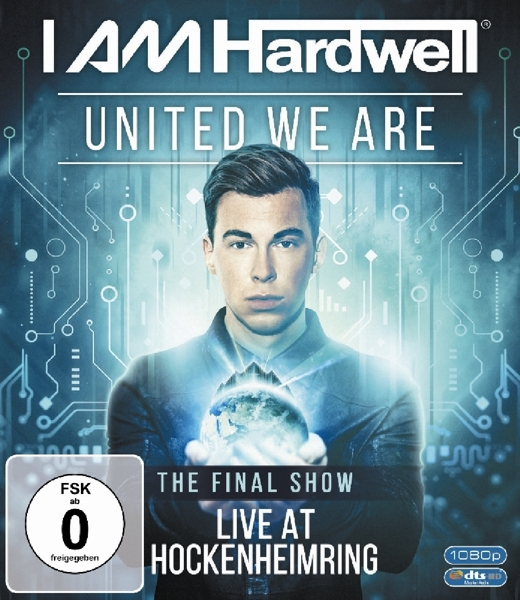 HARDWELL - UNITED WE ARE (nieuw) - Blu-ray Disc