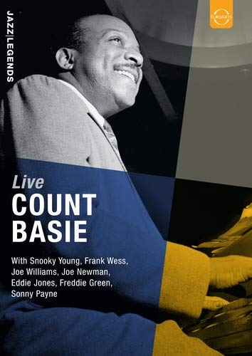 BASIE, COUNT - LIVE (pre-order) - DVD