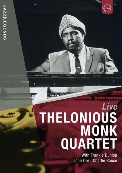 MONK, THELONIOUS -QUARTET- - LIVE (pre-order) - DVD