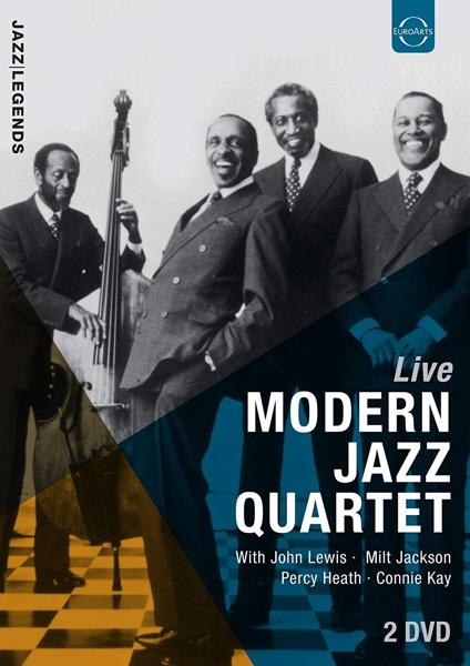 MODERN JAZZ QUARTET - LIVE (pre-order) - DVD